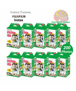 Original 200 Sheet Fuji Fujifilm Instax Mini 8 White Film - $177.47