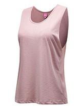 Regna X Womens Scoopneck Cute Yoga Racerback Tank top Pink L - $19.54