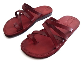 Leather Sandals for Women VENUS by SANDALIM Biblical Greek Roman Sandals - $39.44 CAD+