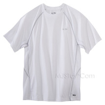 NWT C9 Champion Men Ventilating Pieced White Tee Mesh Back Workout T-Shirt - $17.99