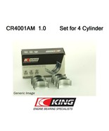CONROD BIGEND BEARINGS +1.0MM FOR CITROEN PEUGEOT BX XB BX BREAK ZX N2 X... - $24.40