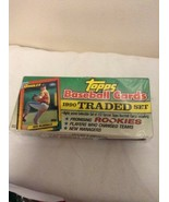 1990 Topps Baseball Traded Long Box Factory Set Sealed 132 Cards Cecil F... - $17.95
