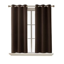 Deconovo Blackout Curtain Room Darkening Thermal Insulated Curtains Grom... - $15.75