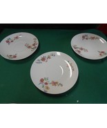 Beautiful CH.FIELD Haviland Limoges GDA France- Set of 3 SAUCERS - $8.72