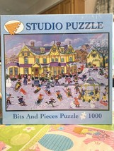 2007 Winter's Day Kemon Sermos Bits and Pieces Studio Puzzle Rare Retired Sealed - $49.99