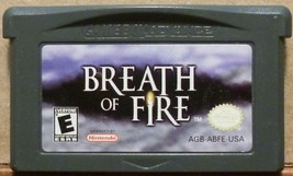 Breath of Fire - Game Boy Advance - $15.33