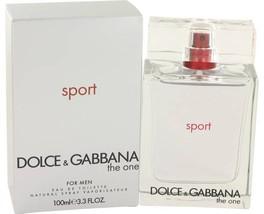 Dolce & Gabbana The One Sport Cologne 3.3 Oz Eau De Toilette Spray  image 4