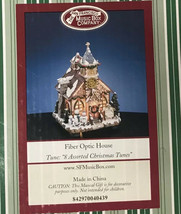 The San Francisco Music Box Company Fiber Optic House 8 Assorted Christm... - $120.00