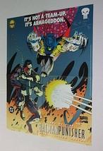 1994 Punisher Batman Marvel DC Comics SIGNED comic promo poster 1: 1990's Azrael - $29.69