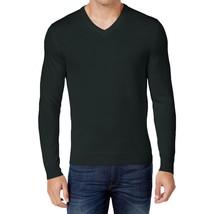 $75 Club Room Men's Merino Blend V-Neck Sweater, Deep Black, Size XL - €21,19 EUR