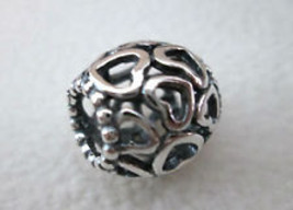 Authentic Pandora Open your heart Charm - $20.00