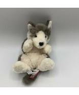 """Douglas Cuddle Toys Wolf Cub 6"""" Lil' Handful #14375 Stuffed Animal Toy 2017 - $10.88"""