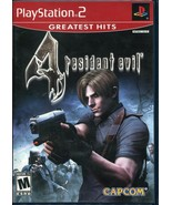 Resident Evil 4 (PlayStation 2, 2005) PS2 Greatest Hits - Complete - $8.01