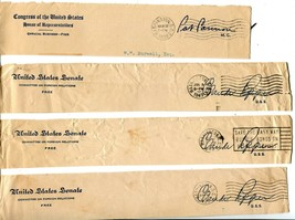 USA Senate House of Representatives Free Postage Cover Envelope Cuts Washington image 2