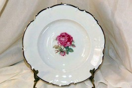 """Hutschenreuther The Belrose Rimmed Soup Bowl Pattern 8158 EUC 8 3/4"""" - $33.26"""