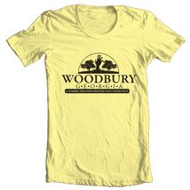 The Walking Dead Woodbury T shirt Zombie horror tv show 100% cotton graphic tee image 3