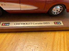 1957 Chevy Corvette Roadster 1:24 Scale Diecast Metal Model Car image 6