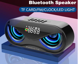 Cool Owl Design Bluetooth Speaker Flash Wireless Loudspeaker - $52.14 CAD
