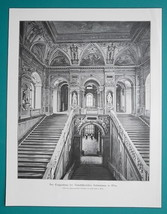 VIENNA Austria Natural History Museum Monumental Staircase - VICTORIAN E... - $21.60