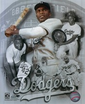Jackie Robinson 8X10 Photo Brooklyn Dodgers Baseball Picture Collage - $4.94