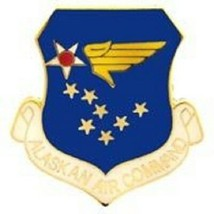USAF Alaskan Air Command Patch - $7.91