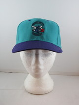 Charlotte Hornets Hat (VTG) - Two Tone by Midway - Adult Snapback - New With Tag - $65.00