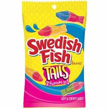 Swedish Fish Tails Candy, 2 Flavors In One, 8 Oz. Bag image 12