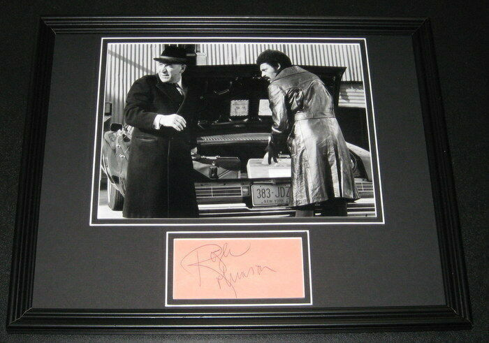 Primary image for Roger Robinson Signed Framed 11x14 Photo Display w/ Telly Savalas