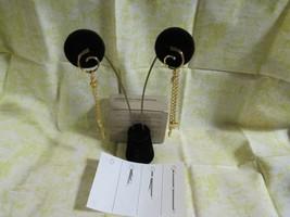 E125) Vtg. 1991 Avon Unchain My Heart Pierced Earring Gold Tone-SS Posts - $3.79