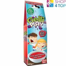 Gelli Baff Play Lava Blast Red Turn Water Into Goo Jelly Bath Kids Children New - $7.81