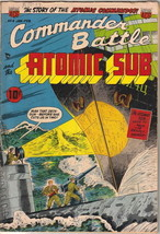Commander Battle and the Atomic Sub Comic Book #4, ACG/TITAN 1955 FINE - $116.02