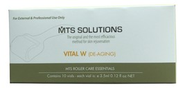 Microneedle Therapy System (MTS) VITAL W (Anti-Aging/Wrinkle Solution) - $28.00+