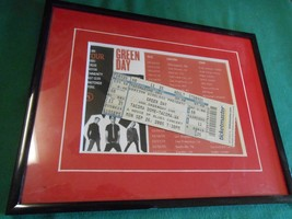 Collectible Framed Ticket Stub-GREEN DAY A House of Blues Concert 9/26/2005 - $14.44