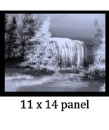 Winter Falls Acrylic Painting - $45.00