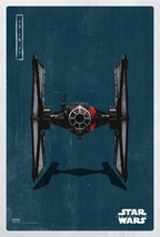 "Star Wars The Last Jedi Movie Poster TIE Fighter Art 13x20"" 24x36 27x40""... - $9.80+"