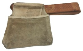 CLC General Construction Leather Tool Belt Bag Pouch Pocket Heavy Duty - $28.71