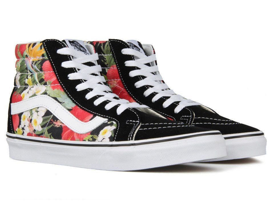 S l1600. S l1600. Previous. Vans Sk8-Hi Reissue Mens Digi Aloha Black True  White Skate shoes Size 10 NWT 35010c1b2