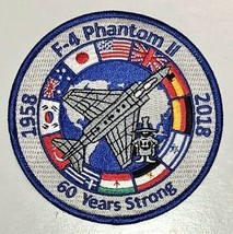USAF F-4 Phantom II 60 Years Strong Patch Sticker - $9.89