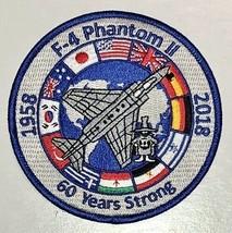 USAF F-4 Phantom II 60 Years Strong Patch Sticker - $9.89