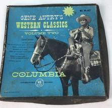 Gene Autry Box Only Western Classics 45 RPM Sleeve Columbia Volume Two M... - $5.93