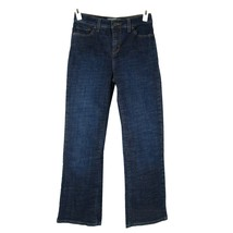 LEVI'S 512 Perfectly Slimming Stretch Boot Cut Jeans 4  Mid Rise Short I... - $9.95