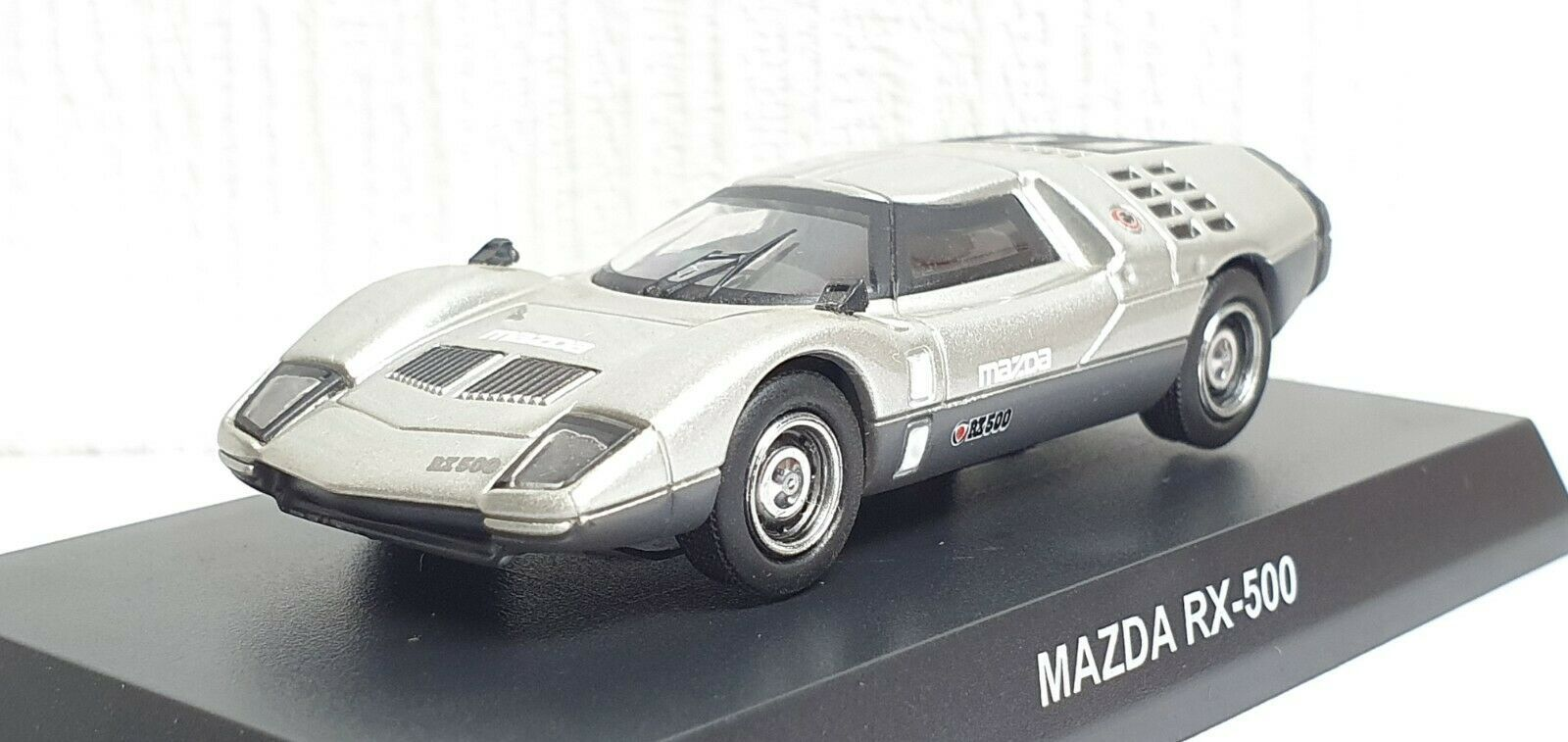 Primary image for 1/64 Kyosho MAZDA RX-500 SILVER diecast car model