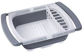 Prepworks by Progressive Collapsible Over-The-Sink Dish Drainer - $35.09