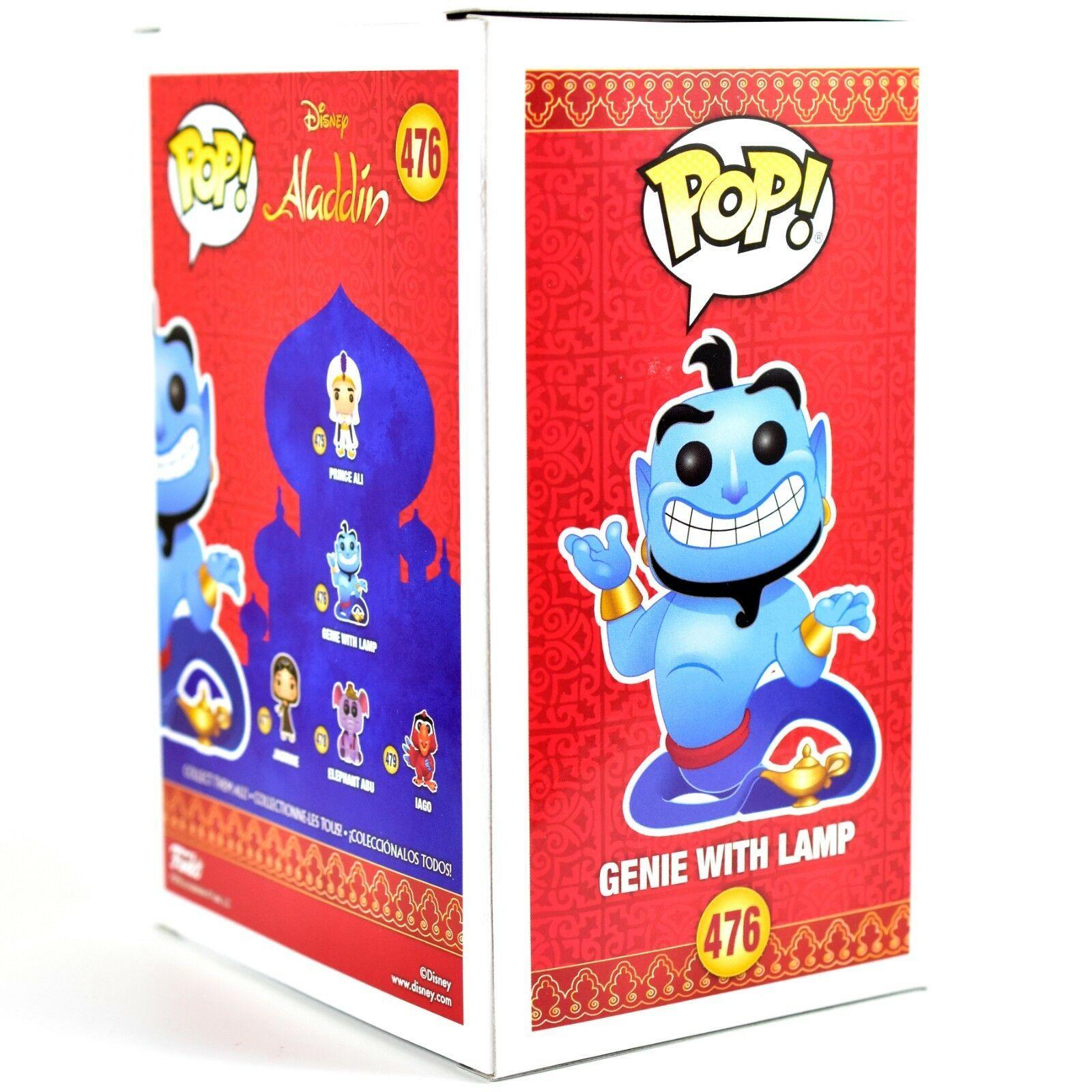 Funko Pop! Disney Aladdin Genie with Lamp #476 Vinyl Action Figure IN STOCK NIB