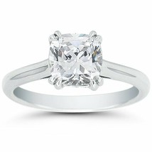 3.00CT Cushion Cut Forever One DEF Round Moissanite Double Prong White G... - $26.442,71 MXN+