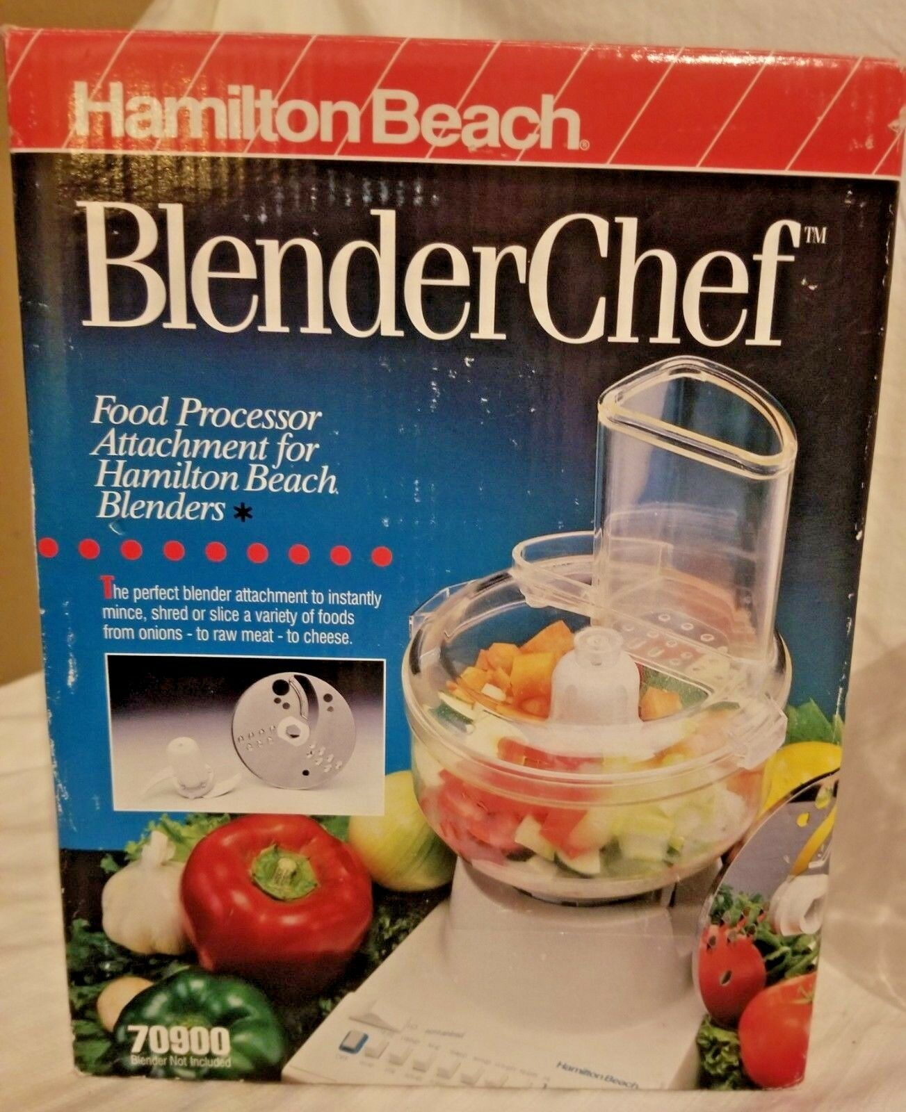 Hamilton Beach  blender Chef Food Processor Chopper Mixer Attachment 70900 image 3