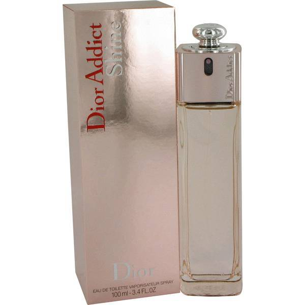 Christian Dior Addict Shine 3.4 Oz Eau De Toilette Spray