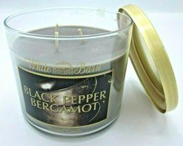 Bath & Body Works 14.5 oz 3-wick Candle lavender Black Pepper Bergamot image 2