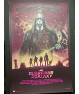Guardians Of The Galaxy 24x36 Grey Matter Variant Print Poster 58/60 Mar... - $104.45