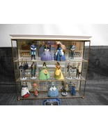 GONE WITH THE WIND Franklin Mint Sculpture Collection w/ Display 15 Figu... - $395.99